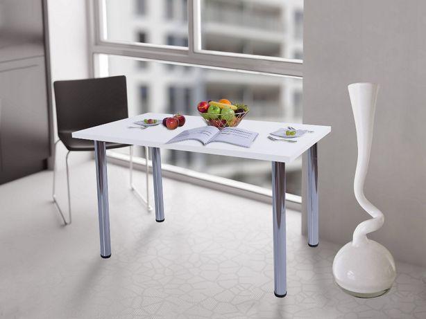 Stół kuchenny 120x68x38 Biały Mat Producent PL