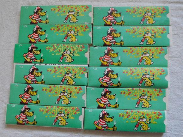 Карандаши цветные Самоцветы СССР 12 упаковок