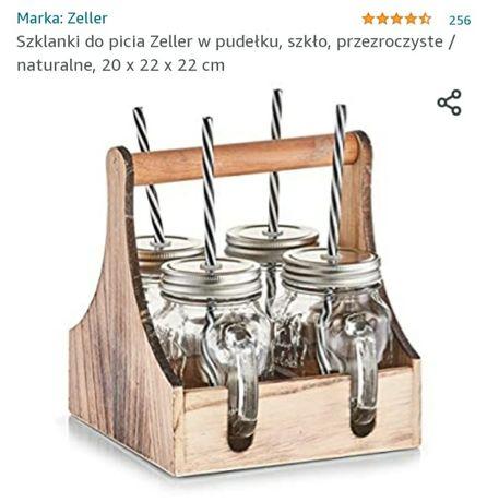Szklanki,kufelki ze słomką marki Zeller