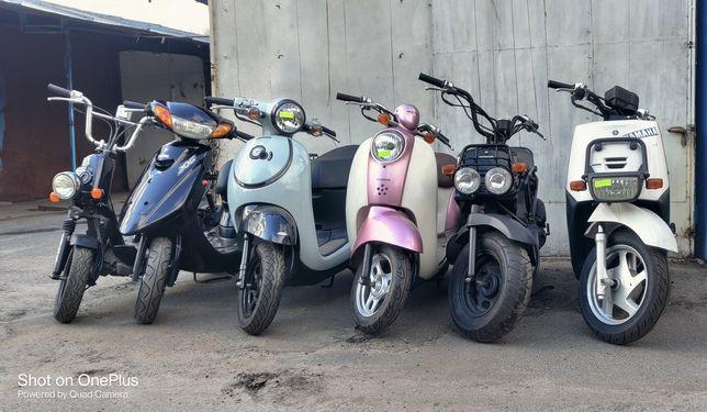 Скутера без пробега по Украине: Honda Yamaha Suzuki