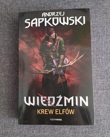 Andrzej Sapkowski Wiedźmin - Krew elfów