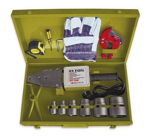 Паяльник для пластиковых ПВХ труб ELTOS ППТ-2400 Germany ГАРАНТИЯ 925