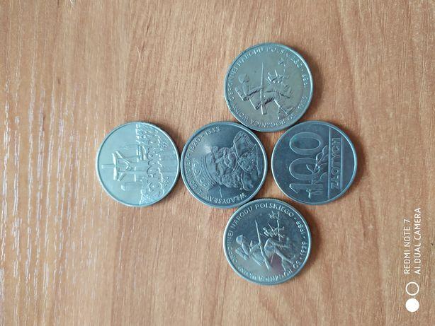 Kolekcjonerskie monety 1986 -1990