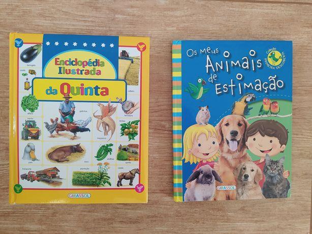 Livro animais de estimação / enciclopédia da quinta