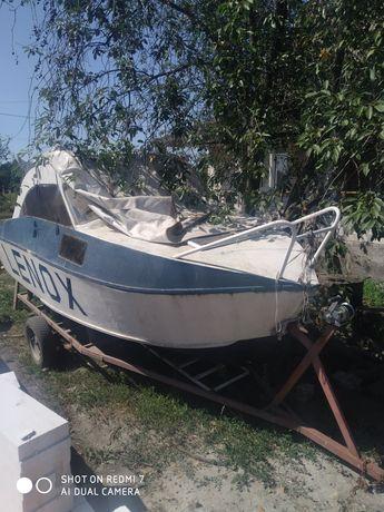 Лодка катер сом