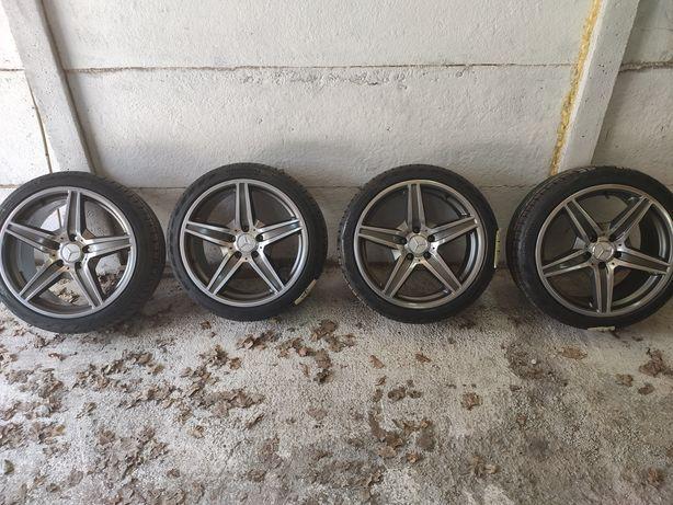 Koła Alufelgi 18 Mercedes plus nowe opony