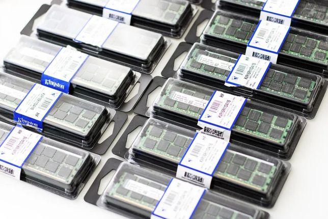оперативная память 4шт, Kingston 16GB DDR3.KVR16R11D4/16 Registered
