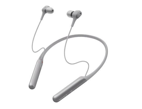 Słuchawki Sony WI-C600NH aktywna redukcja hałasu srebrne NOWE