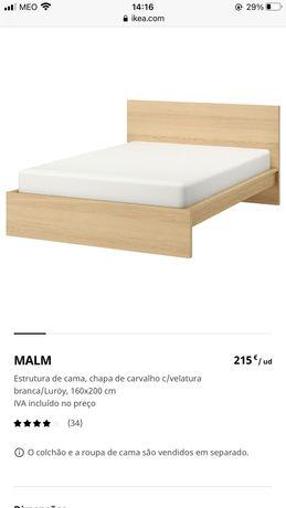 CAMA MALM 160x200