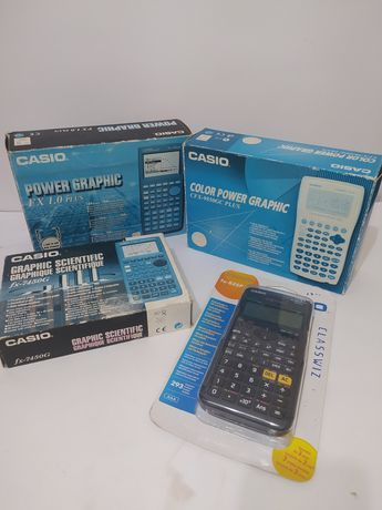 Lote de calculadoras Casio cientificas Gráficas + oferta