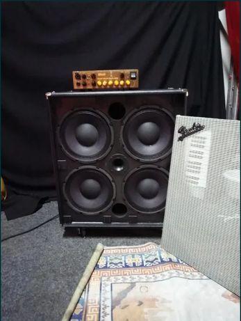 Fender Rumble 410 Cabinet (coluna de baixo) amplificador, amplificação