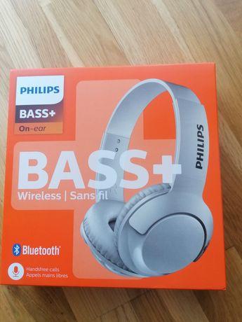Słuchawki bluetooth philips shb3075wt białe nowe