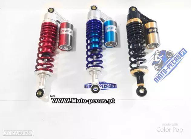 Amortecedor traseiro para motos ou motorizadas 32cm ou 42 entre furos suspensao com carga (botija)