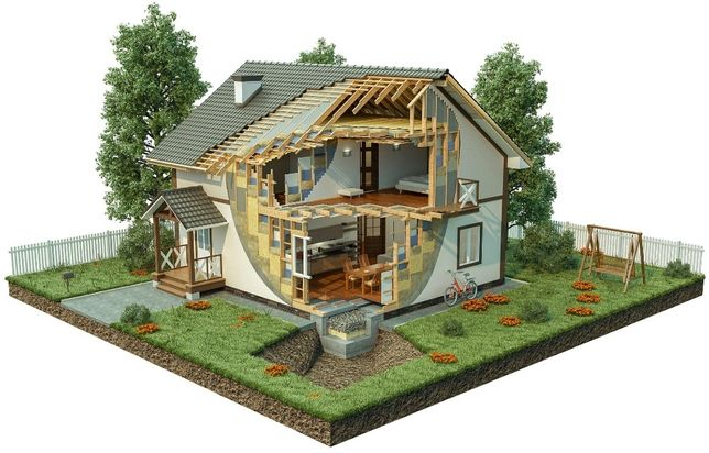 Быстровозводимые каркасные дома для постоянного проживания