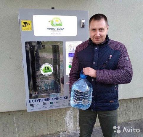 Водний апарат для продажу очищеної води(вендінговий апарат)