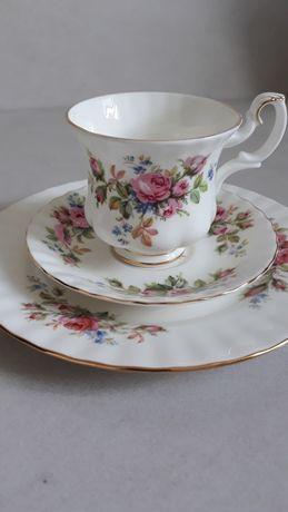 Кофейная тройка Чашка Блюдце Тарелка Rоyal Albert