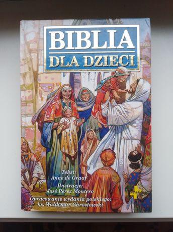 Biblia dla dzieci, prezent na komunie świętą