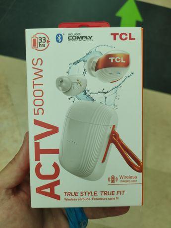 Auriculares Bluetooth True Wireless TCL ACTV500 in ear Branco  - NOVO