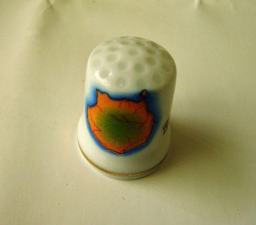 Dedal em cerâmica