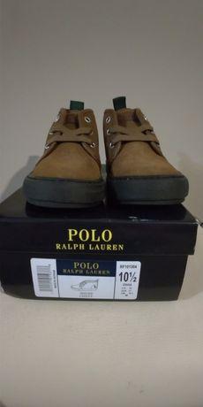 Детские ботинки Polo Ralph Lauren, новые, 18,3 см, весна-осень