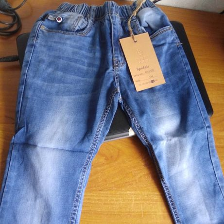 Джинсы стрейчевые на мальчика (брюки)размер 110-134