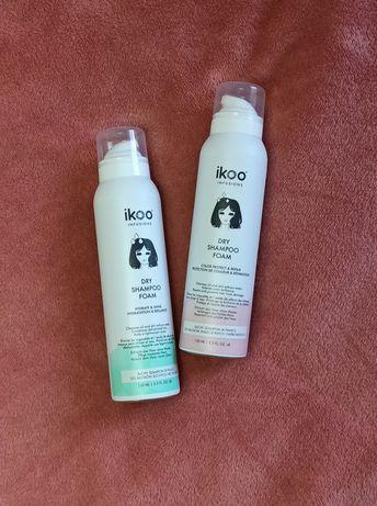 Suchy szampon w piance