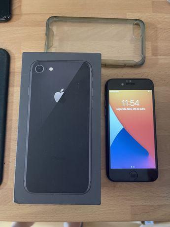 Iphone 8 64gb desbloqueado(ACEITO RETOMA)