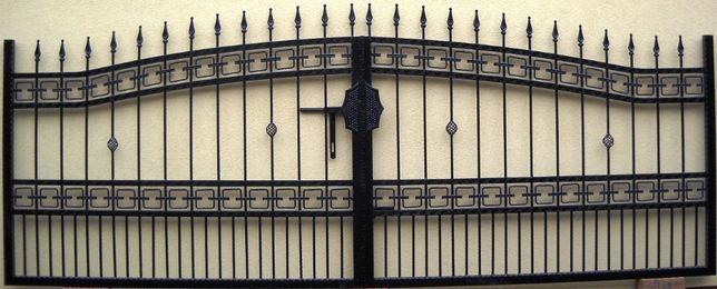 Brama kuta dwuskrzydłowa bardzo solidna Wzór 6 PROMOCJA POLECAM