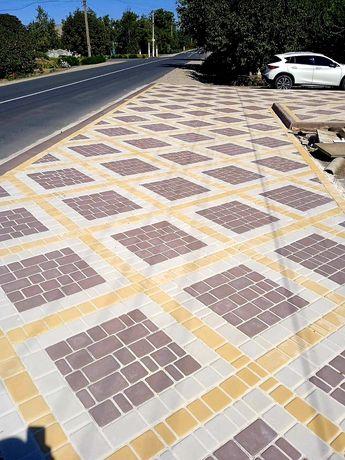 Тротуарная плитка от производителя, качественная  укладка