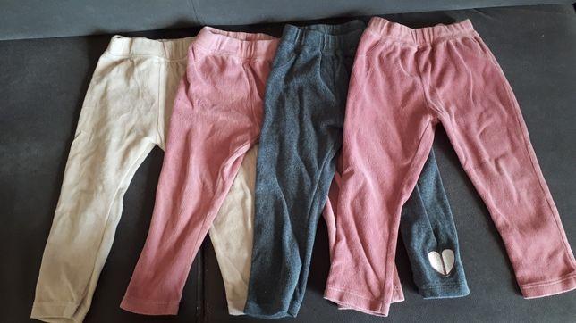 Zestaw komplet spodnie lupilu 12-24 miesiące 92