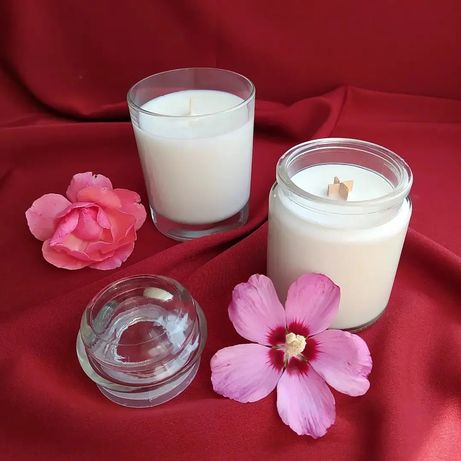 Ароматические свечи. Соевые свечи