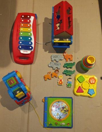 Komplet zabawek dla dziecka +1