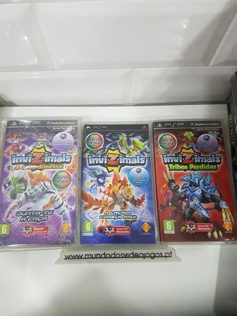 Jogos PSP  invizimals