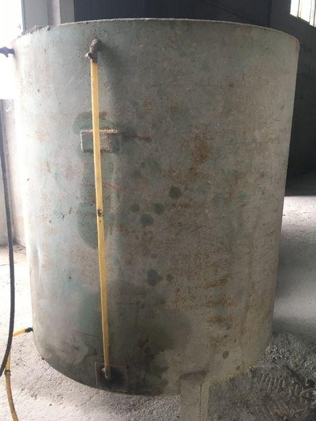 Depósito para gasóleo em ferro
