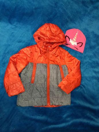 Куртка курточка Деми, осенняя.Рост 98-104, цена снижена, без торга