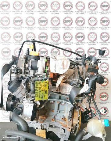 Motor Fita 500 L 2013, 1.3 MJET referência 199B4000, aproximadamente 139 000kms.