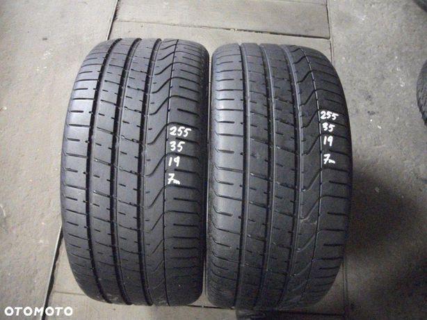 Pirelli P Zero 255 35 19 JAK NOWE opona OPONY 2SZT