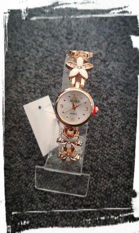 Zegarek na bransoletce damski śliczny nowy różne kolory na prezent