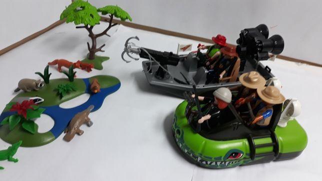 Playmobil klusownicy -myśliwi w akcji