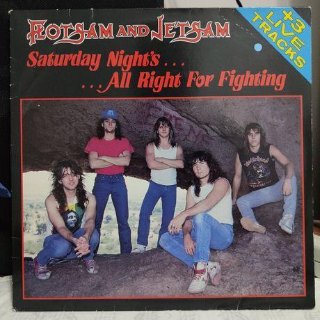Flotsam and Jetsam - Saturday night's - maxi single - winyl - stan NM