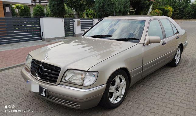 Mercedes W140/S350TD/Automat/Clima/PodwójneSzyby/Zadbane/Zamiana