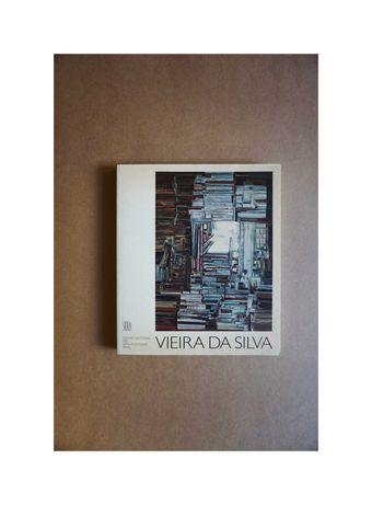 Livro / Catálogo de Vieira da Silva 1988 (Lisboa e Paris)