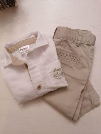 Camisa e calça 6/9meses Pré Natal