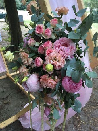 Dekoracje ślubne okolicznościowe