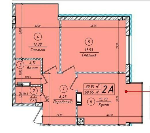 Продам большую квартиру трансформер в ЖК Петровский квартал