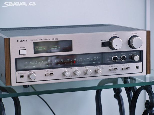 Amplituner Sony Str 5800 Potężny Piękny Vintage