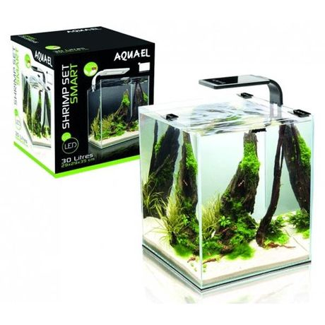 Zestaw akwariowy Shrimp Set Smart 2 plant black 30 l. Gwarancja