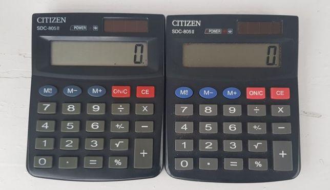 Калькуляторы CITIZEN SDC-805 II для школьников