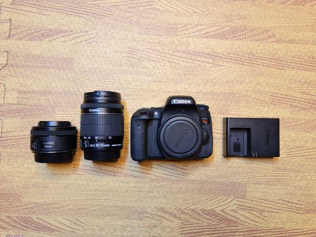 Canon EOS 760D (T6S nos EUA) + lente EF-S18 55m