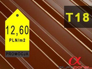 Międzychód/ Blacha trapezowa T-18 II gatunek - 17,00zł/mb